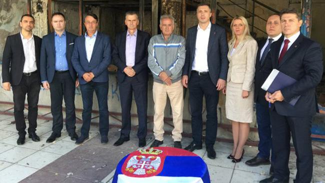 Стаматовић: Здрава Србија, Двери и Отаџбина, под каменицама, потписали Декларацију о одбрани Косова